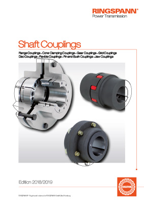 New catalogue shaft couplings